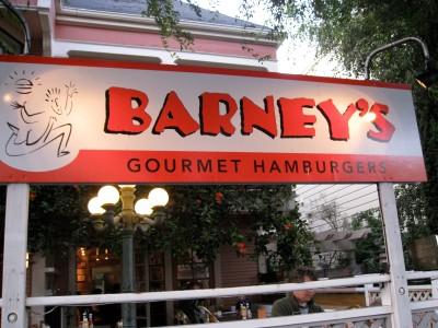 Bring it on, Barney.