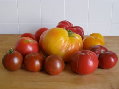a whole lotta heirlooms!